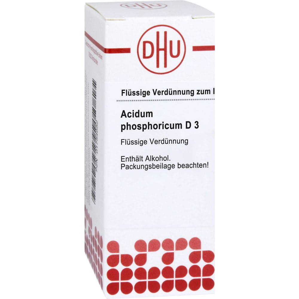 ACIDUM PHOSPHORICUM D 3 Dilution