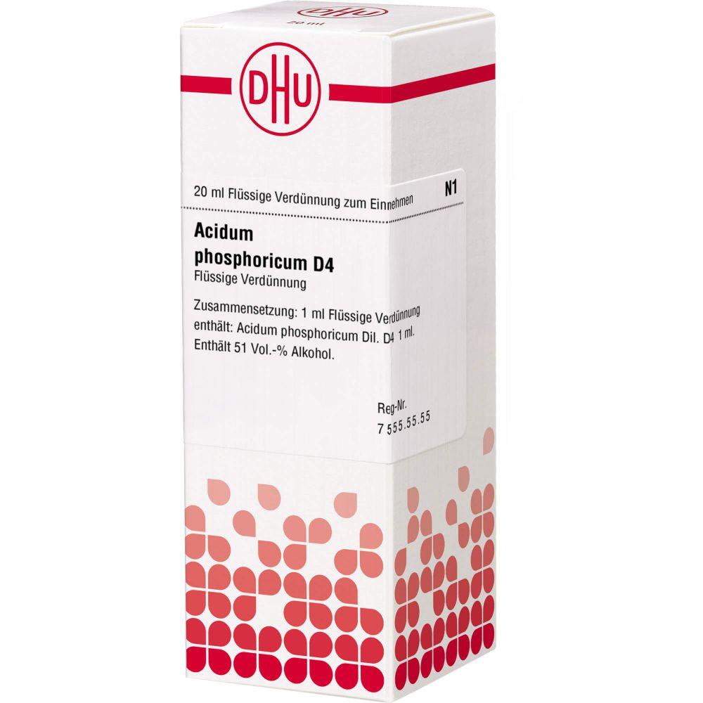 ACIDUM PHOSPHORICUM D 4 Dilution