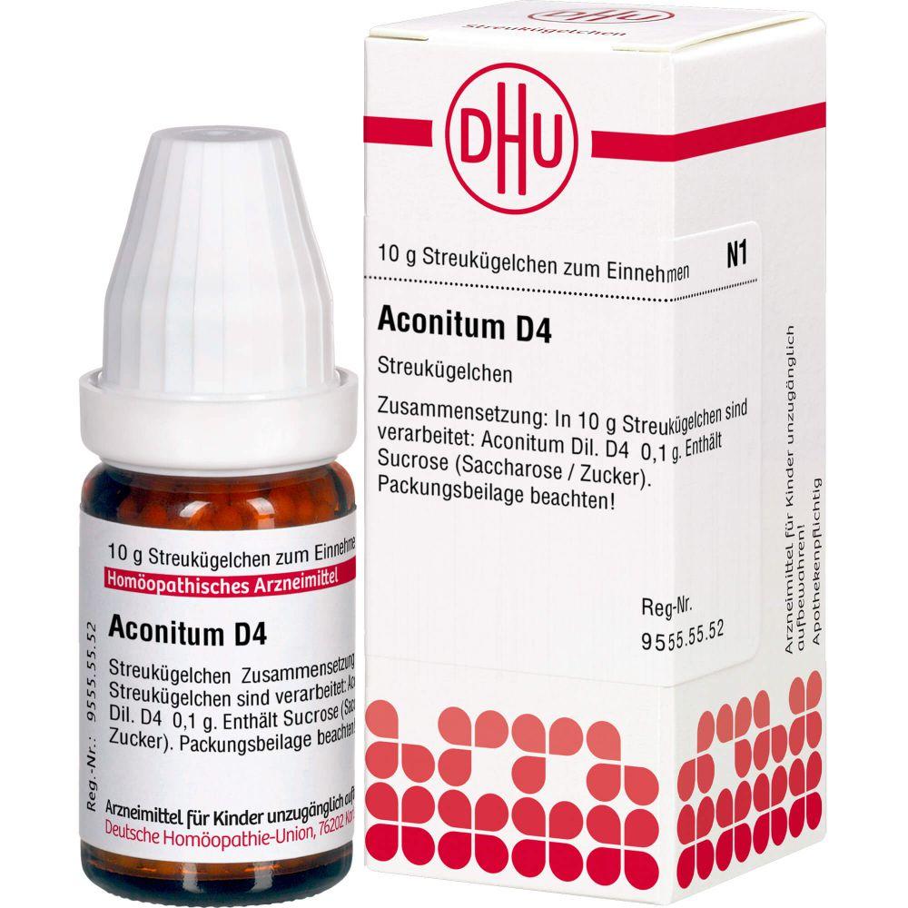 ACONITUM D 4 Globuli