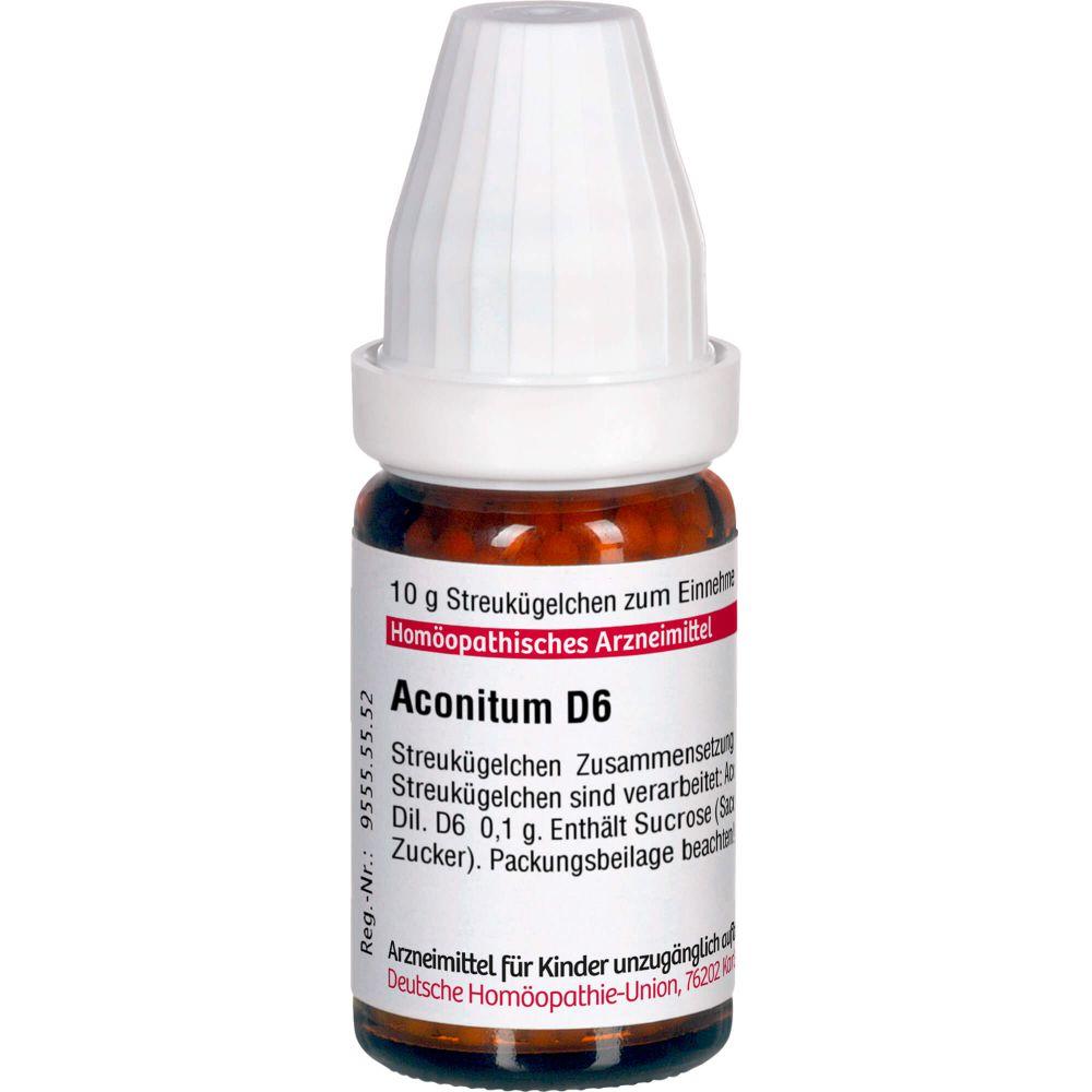 ACONITUM D 6 Globuli
