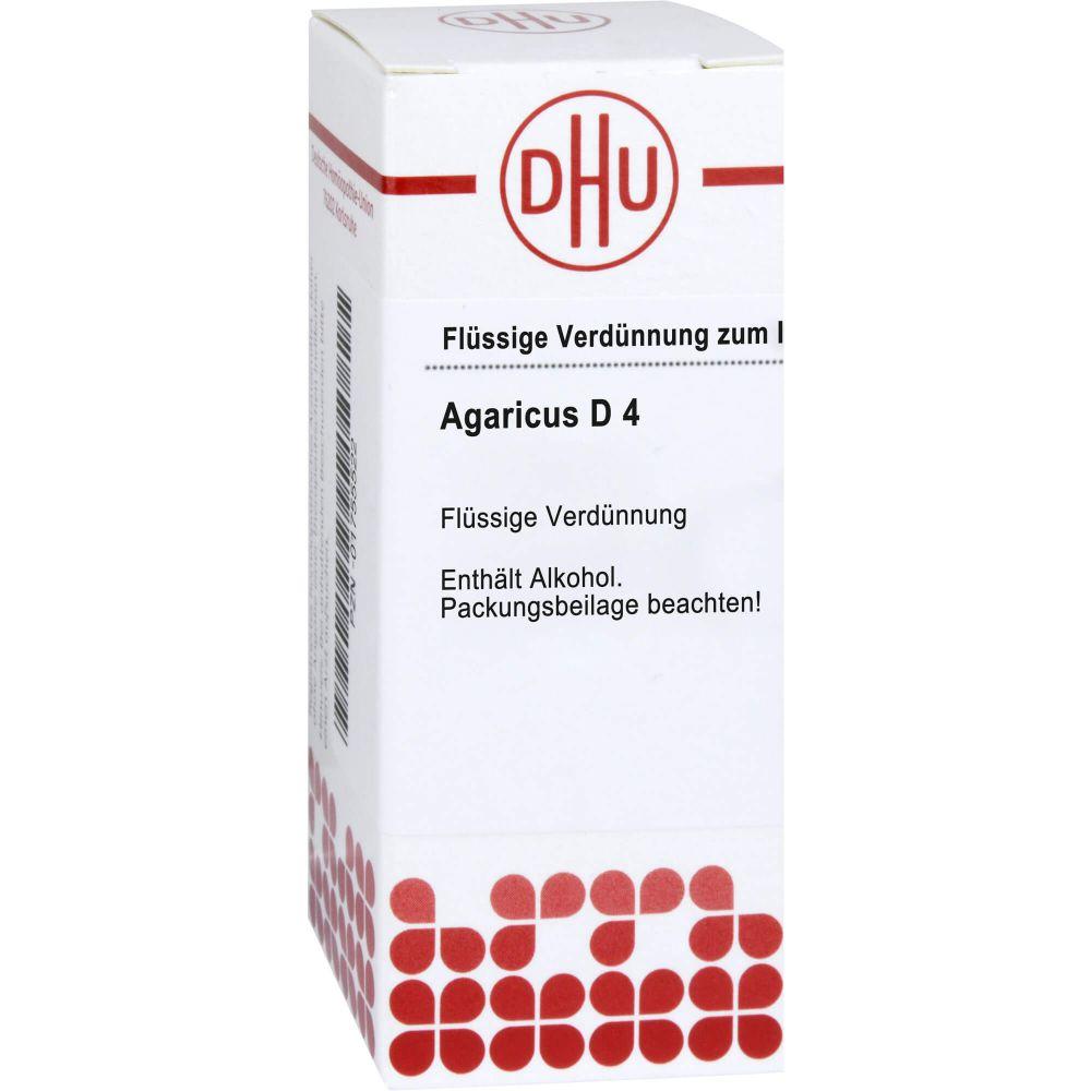 AGARICUS D 4 Dilution