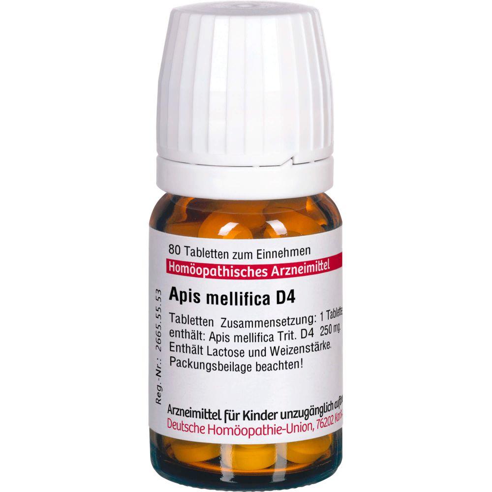 APIS MELLIFICA D 4 Tabletten