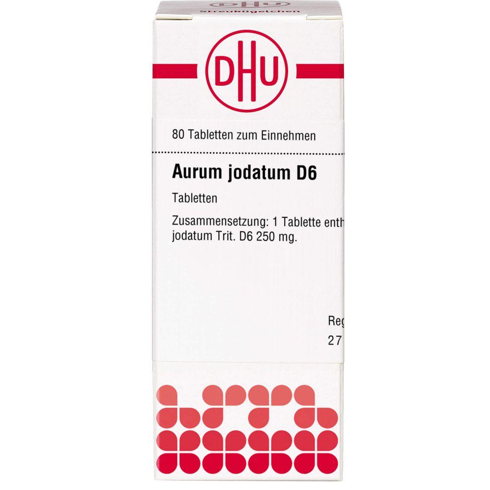 AURUM JODATUM D 6 Tabletten