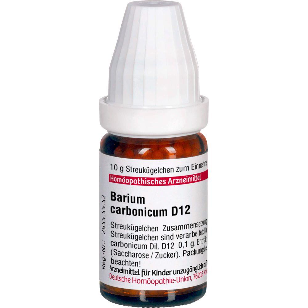 BARIUM CARBONICUM D 12 Globuli