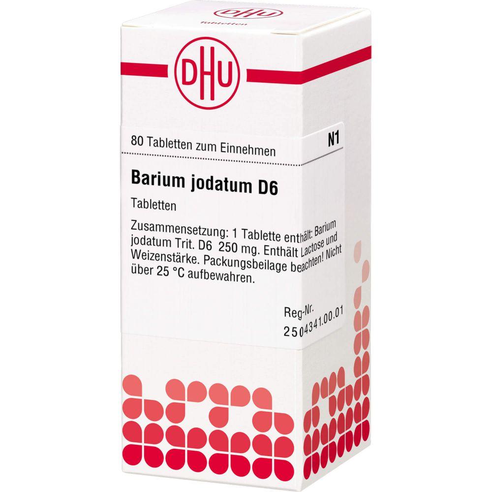 BARIUM JODATUM D 6 Tabletten