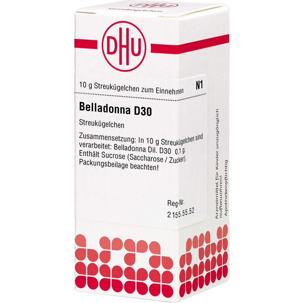 BELLADONNA D 30 Globuli