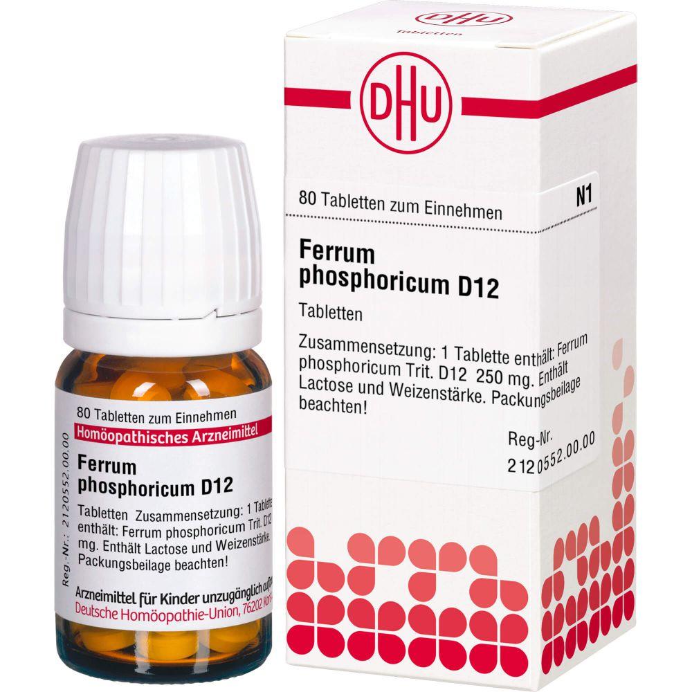 FERRUM PHOSPHORICUM D 12 Tabletten