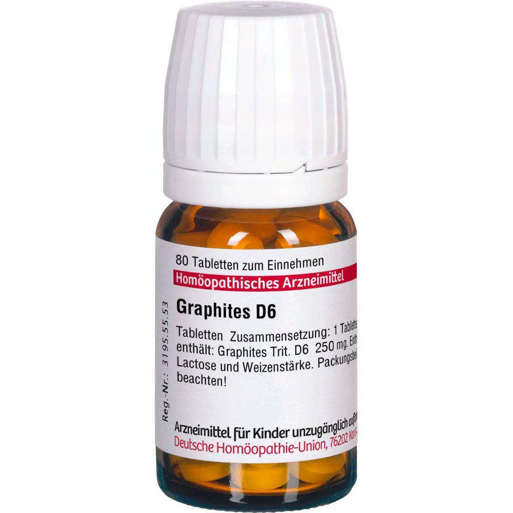GRAPHITES D 6 Tabletten