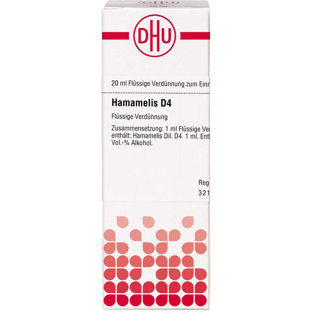 HAMAMELIS D 4 Dilution
