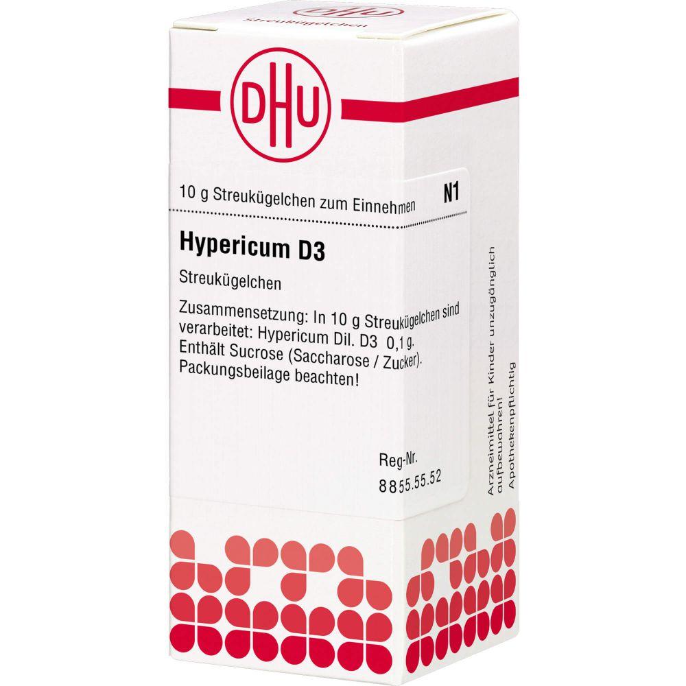 HYPERICUM D 3 Globuli