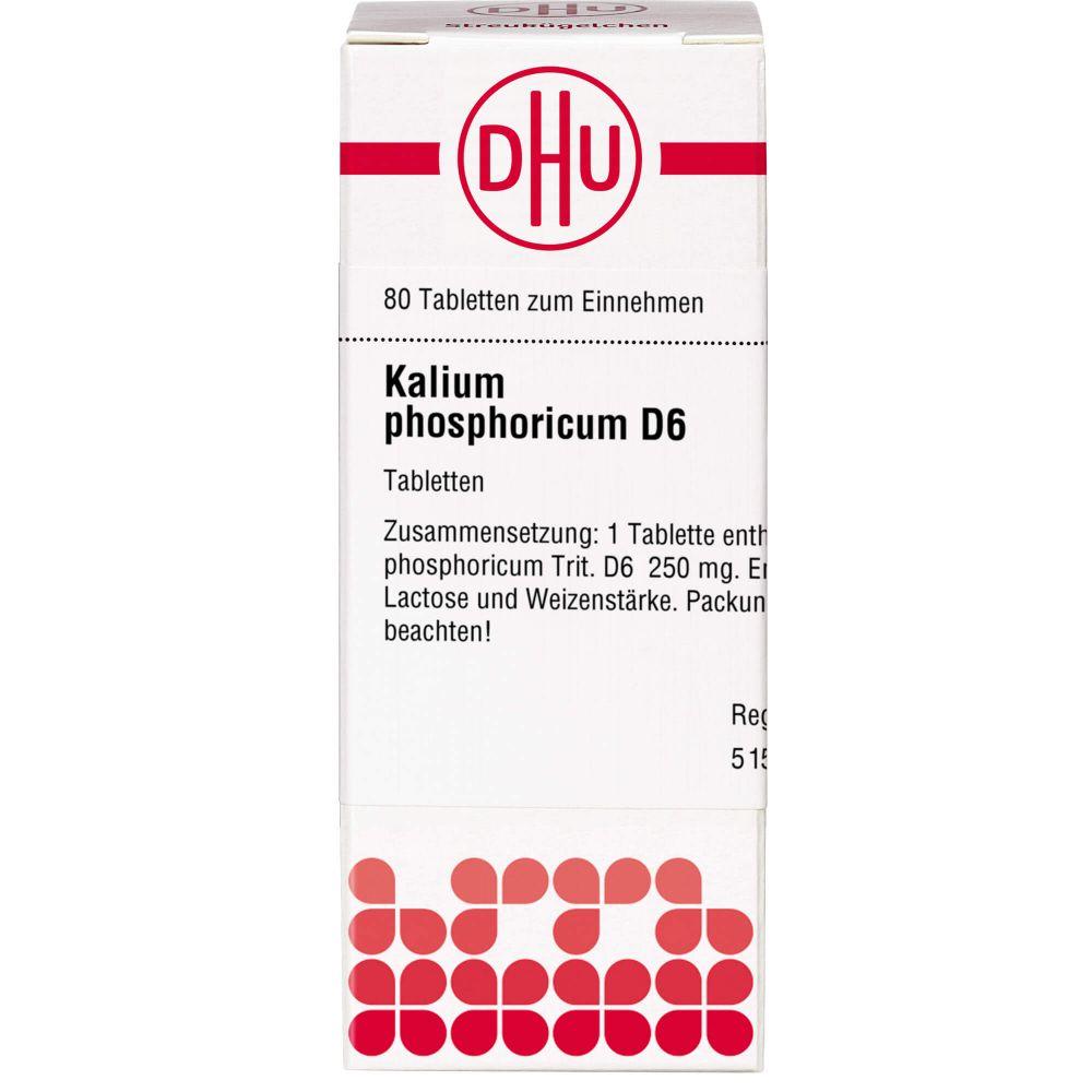 KALIUM PHOSPHORICUM D 6 Tabletten