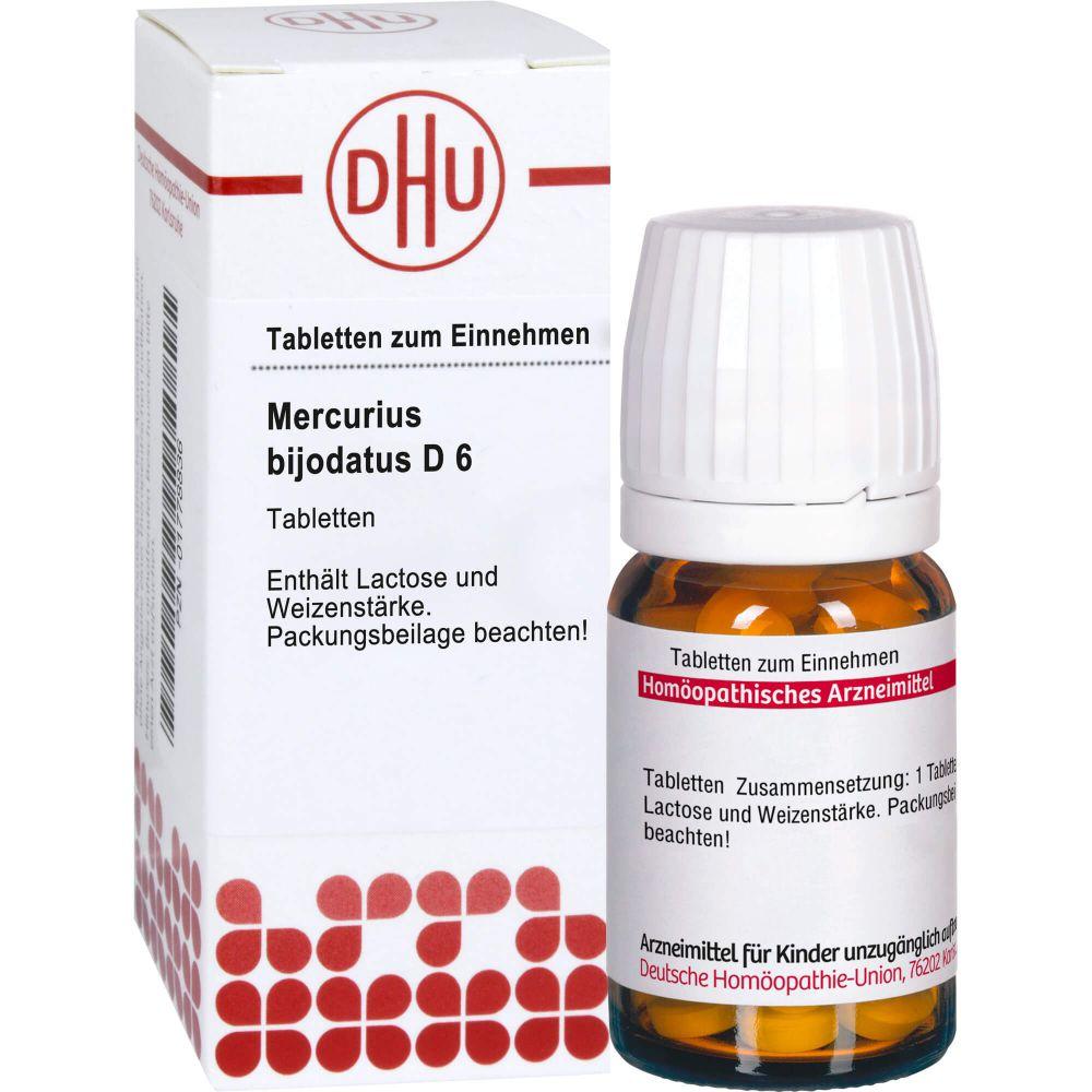 MERCURIUS BIJODATUS D 6 Tabletten