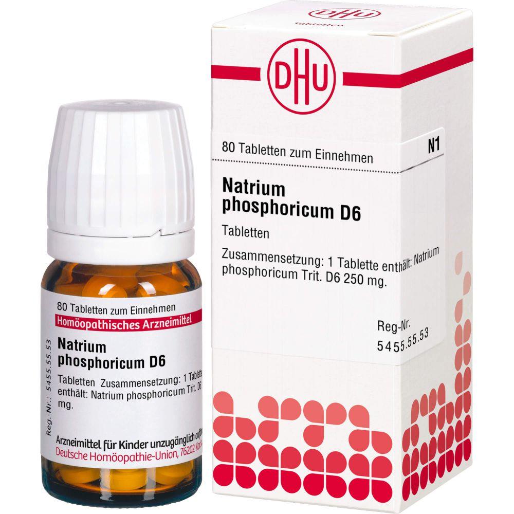 NATRIUM PHOSPHORICUM D 6 Tabletten