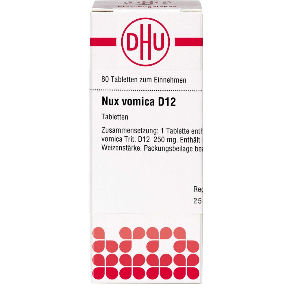 NUX VOMICA D 12 Tabletten