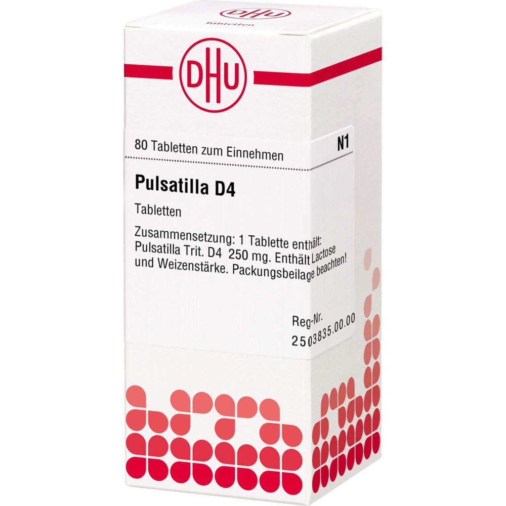 PULSATILLA D 4 Tabletten