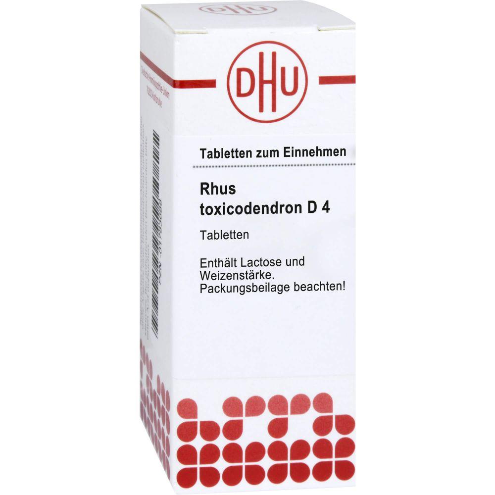RHUS TOXICODENDRON D 4 Tabletten