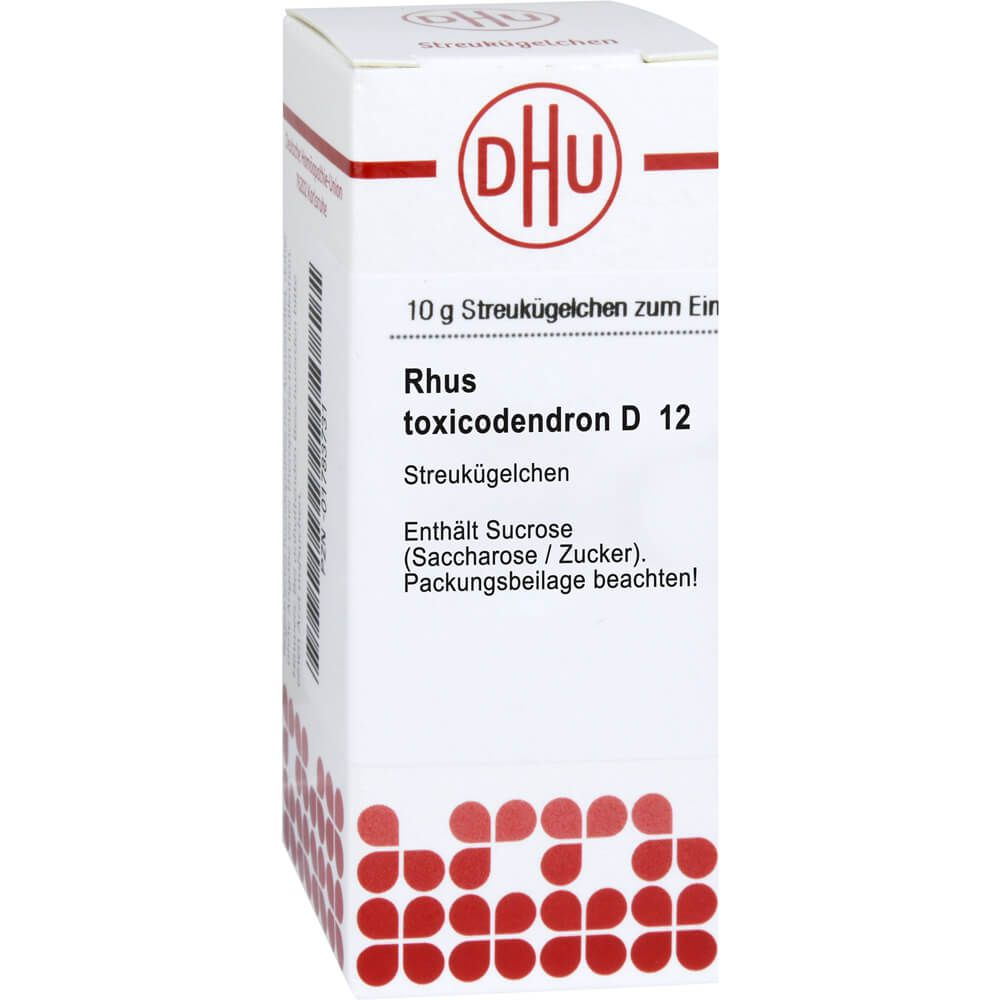 RHUS TOXICODENDRON D 12 Globuli
