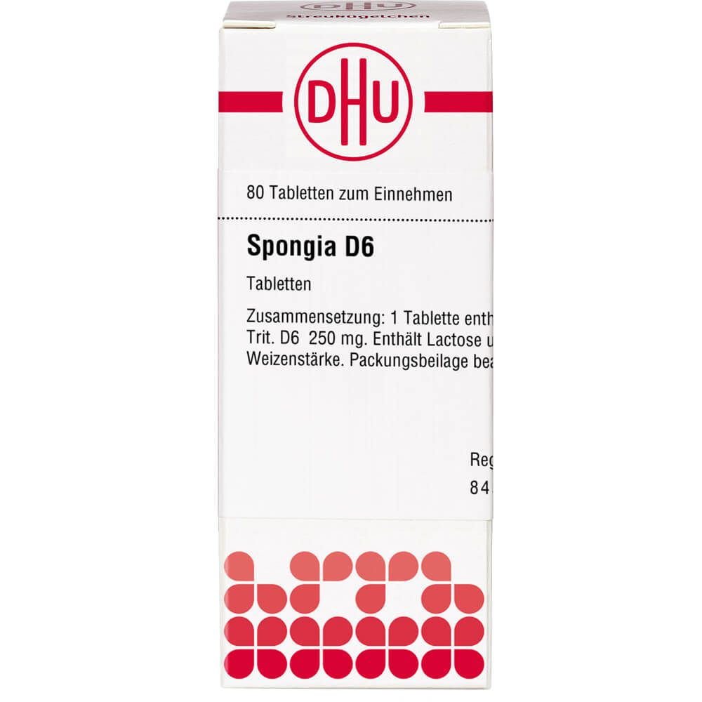 SPONGIA D 6 Tabletten