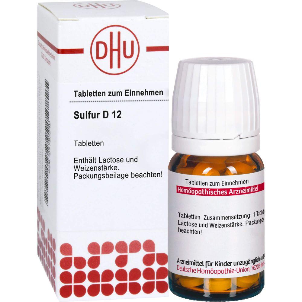 SULFUR D 12 Tabletten