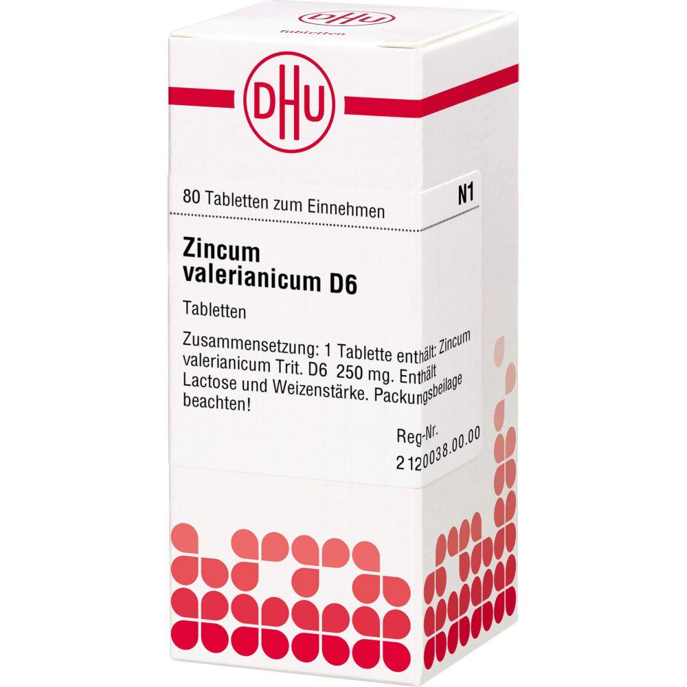 ZINCUM VALERIANICUM D 6 Tabletten