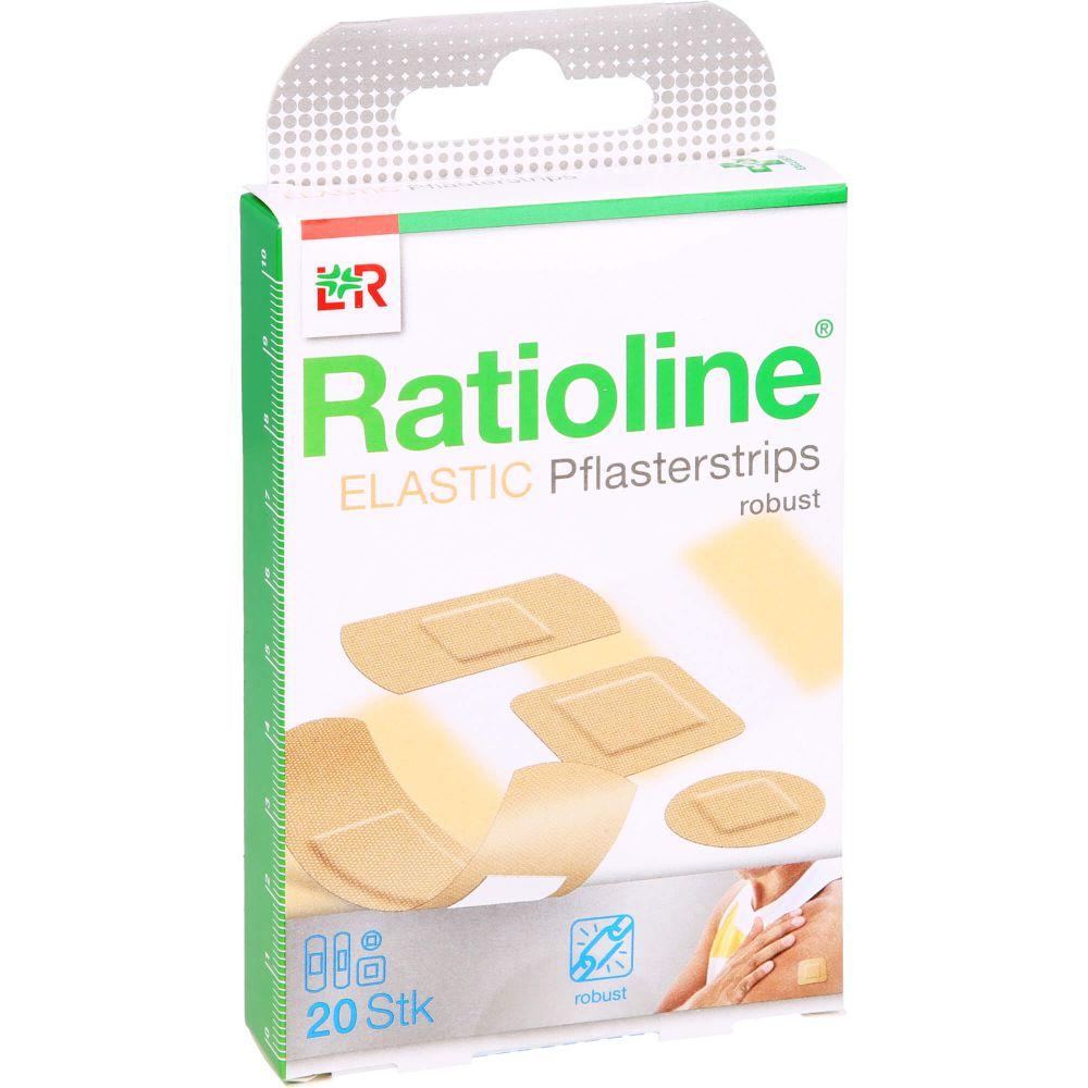 RATIOLINE elastic Pflasterstrips in 4 Größen