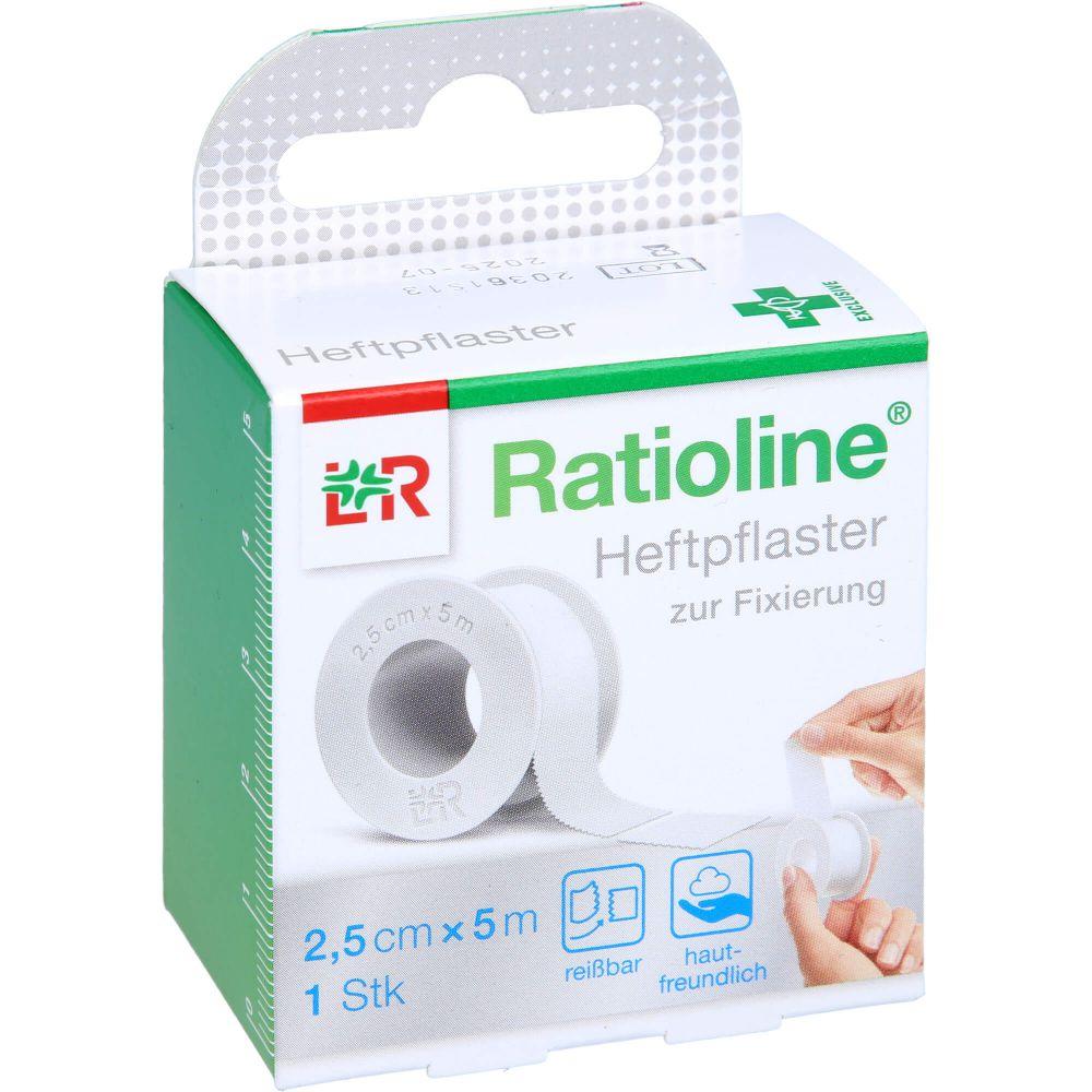RATIOLINE acute Heftpflaster 2,5 cmx5 m