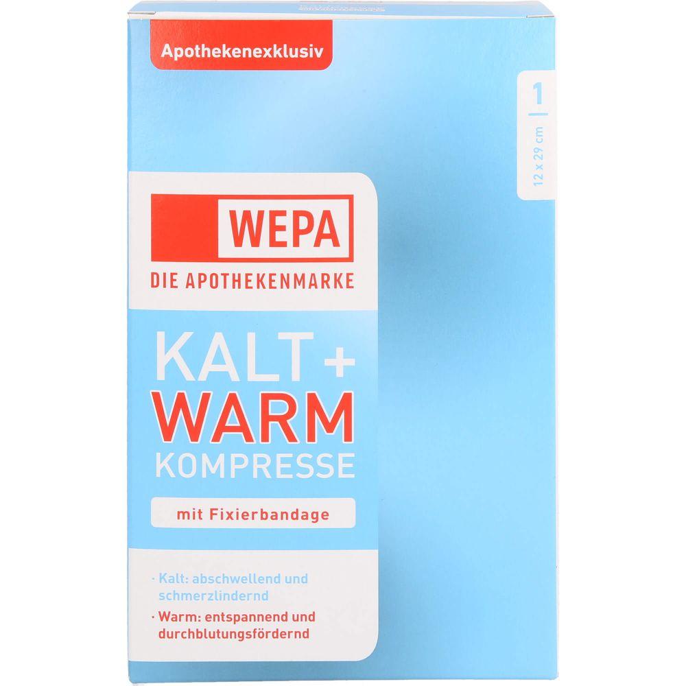 KALT-WARM Kompresse 12x29 cm mit Fixierband