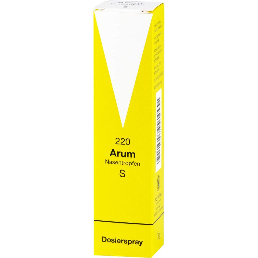 ARUM NASENTROPFEN S 220