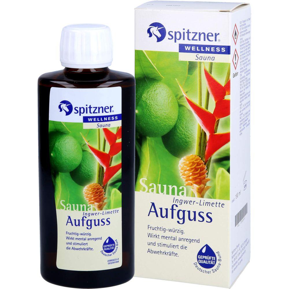 SPITZNER Saunaaufguss Ingwer Limette Wellness