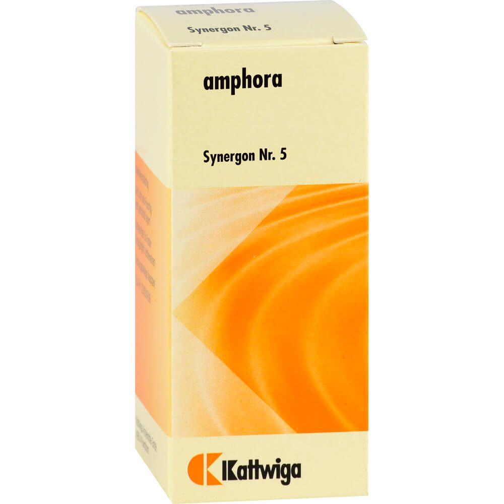SYNERGON KOMPLEX 5 Camphora Tropfen