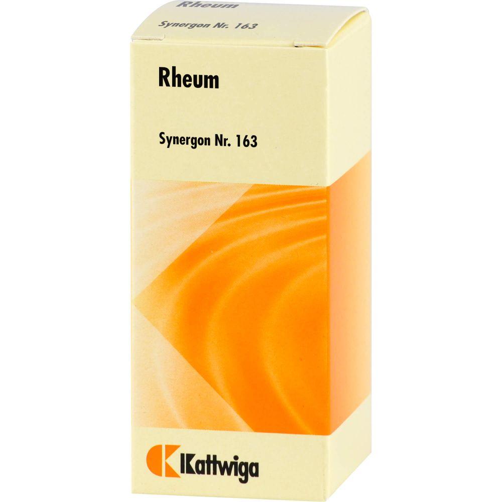 SYNERGON KOMPLEX 163 Rheum Tropfen