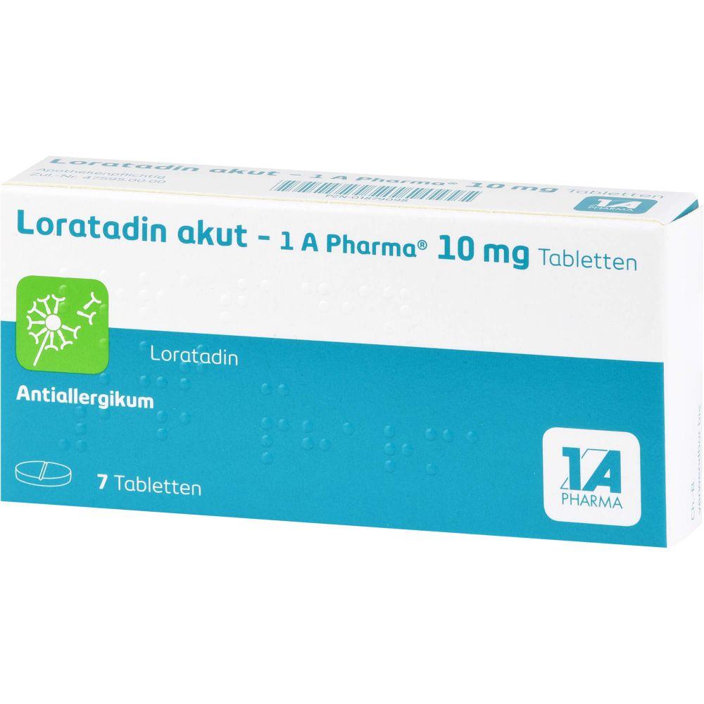 LORATADIN akut-1A Pharma Tabletten