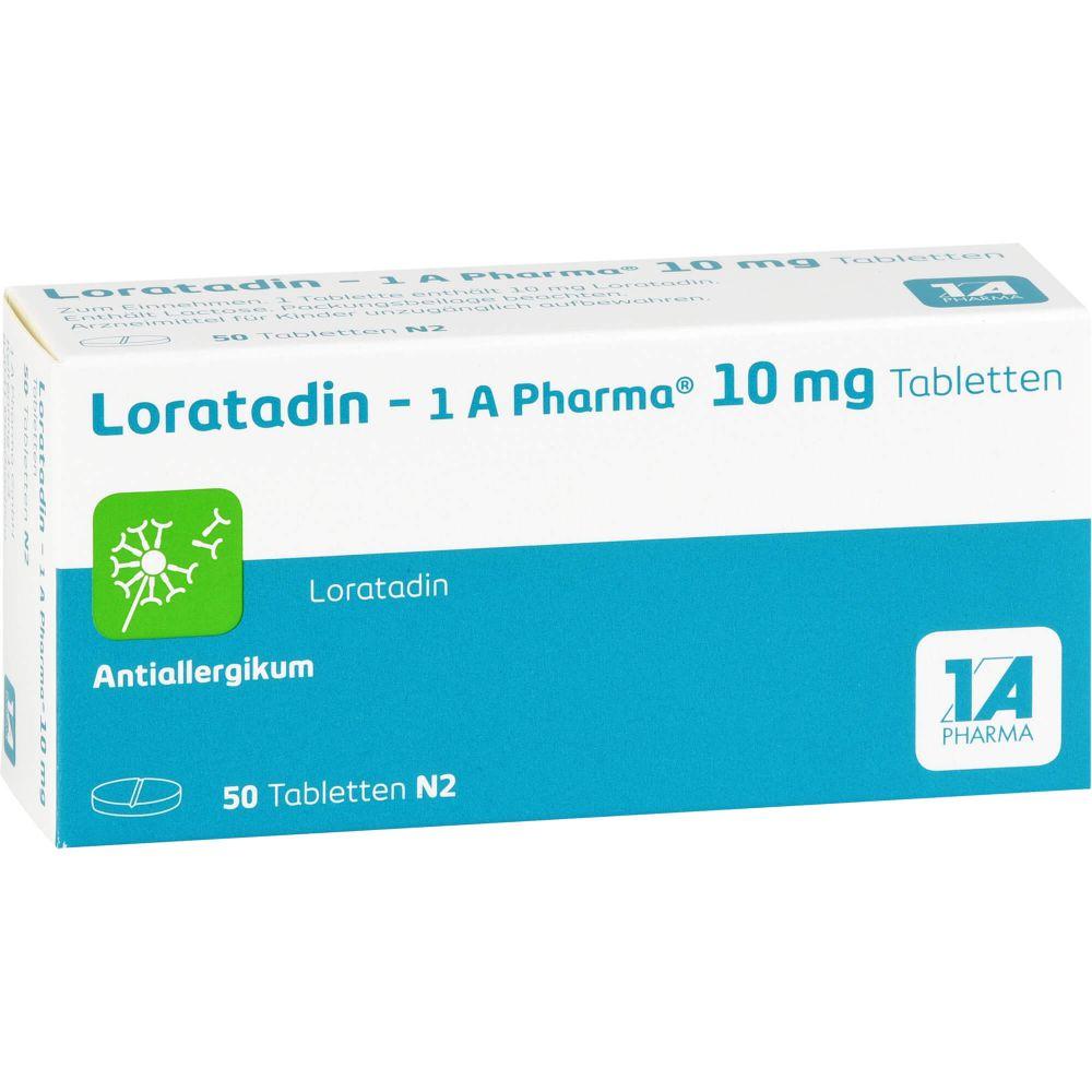 LORATADIN-1A Pharma Tabletten