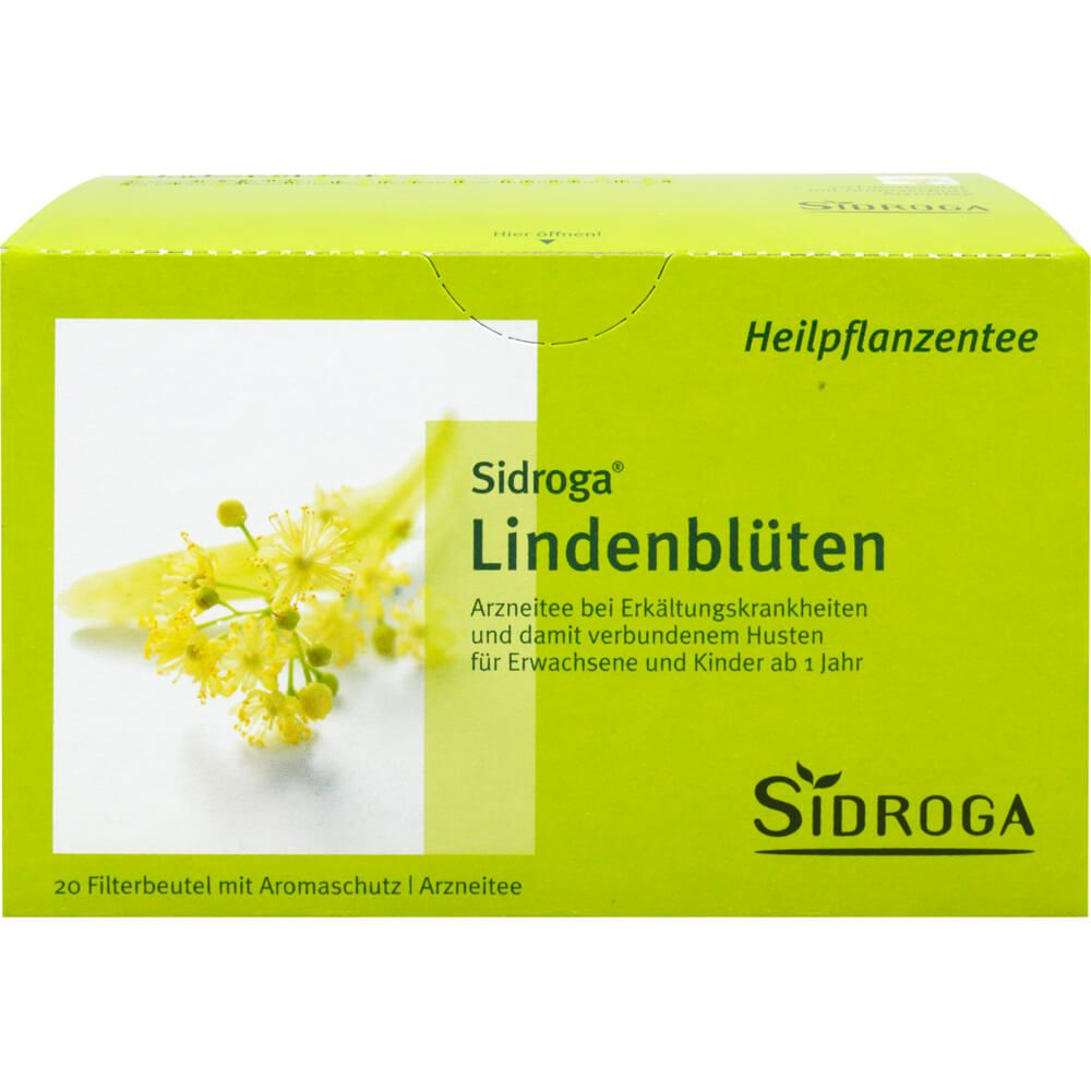 SIDROGA Lindenblüten Tee Filterbeutel