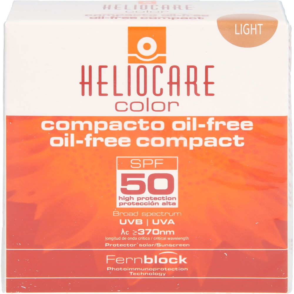 HELIOCARE Compact ölfrei SPF 50 hell Make-up
