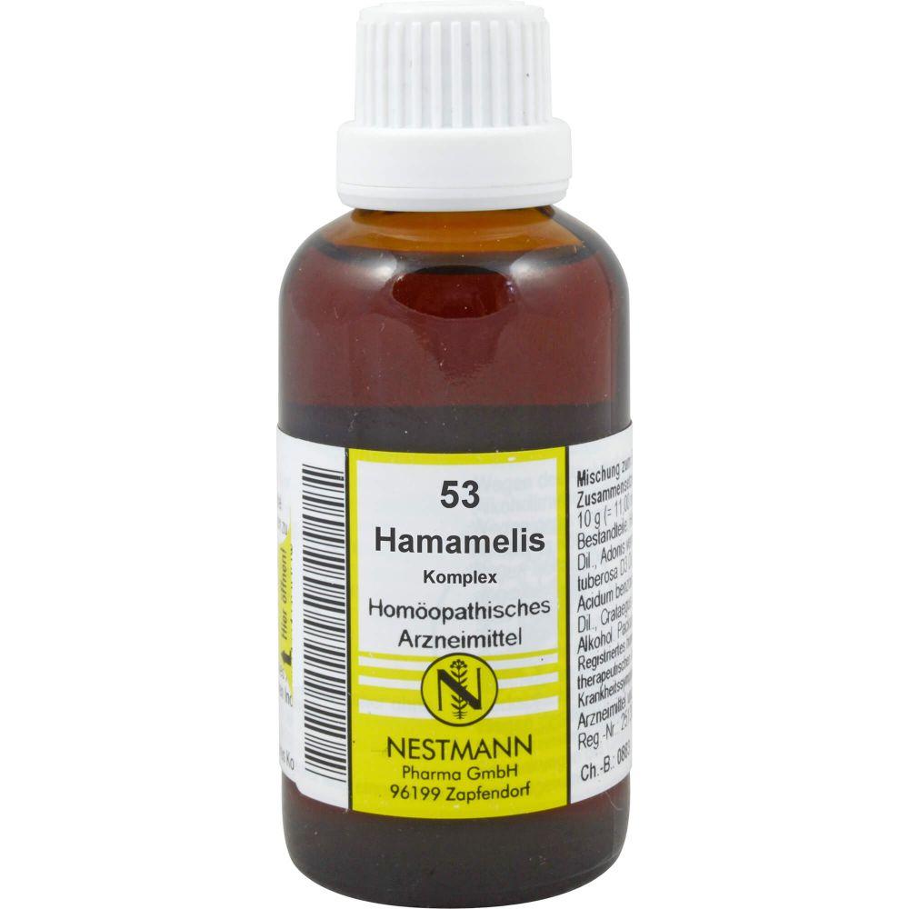 HAMAMELIS KOMPLEX Nestmann Nr.53 Dilution