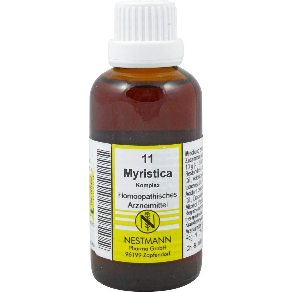 MYRISTICA KOMPLEX Nestmann 11 Dilution