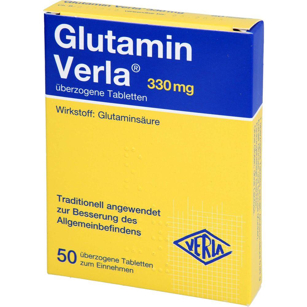 GLUTAMIN VERLA überzogene Tabletten