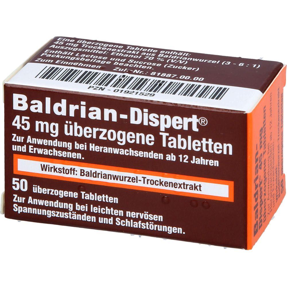 BALDRIAN DISPERT 45 mg überzogene Tabletten