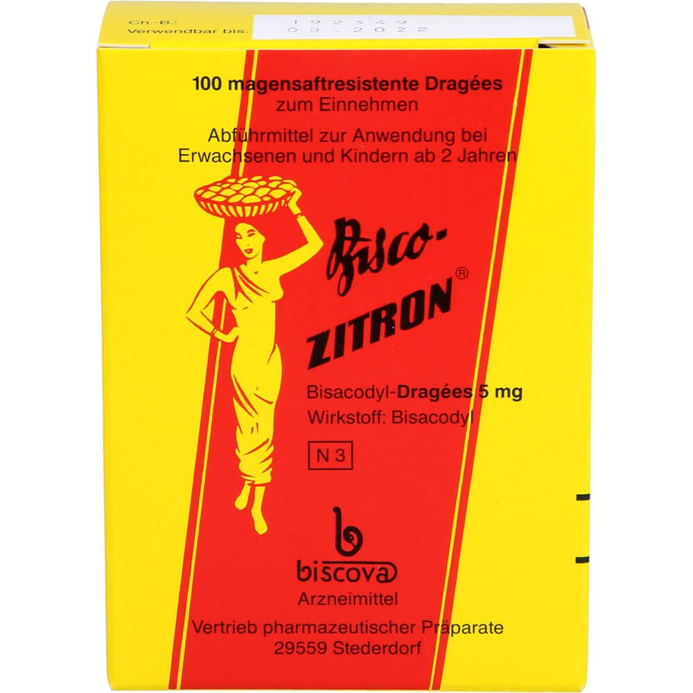 BISCO ZITRON Dragees