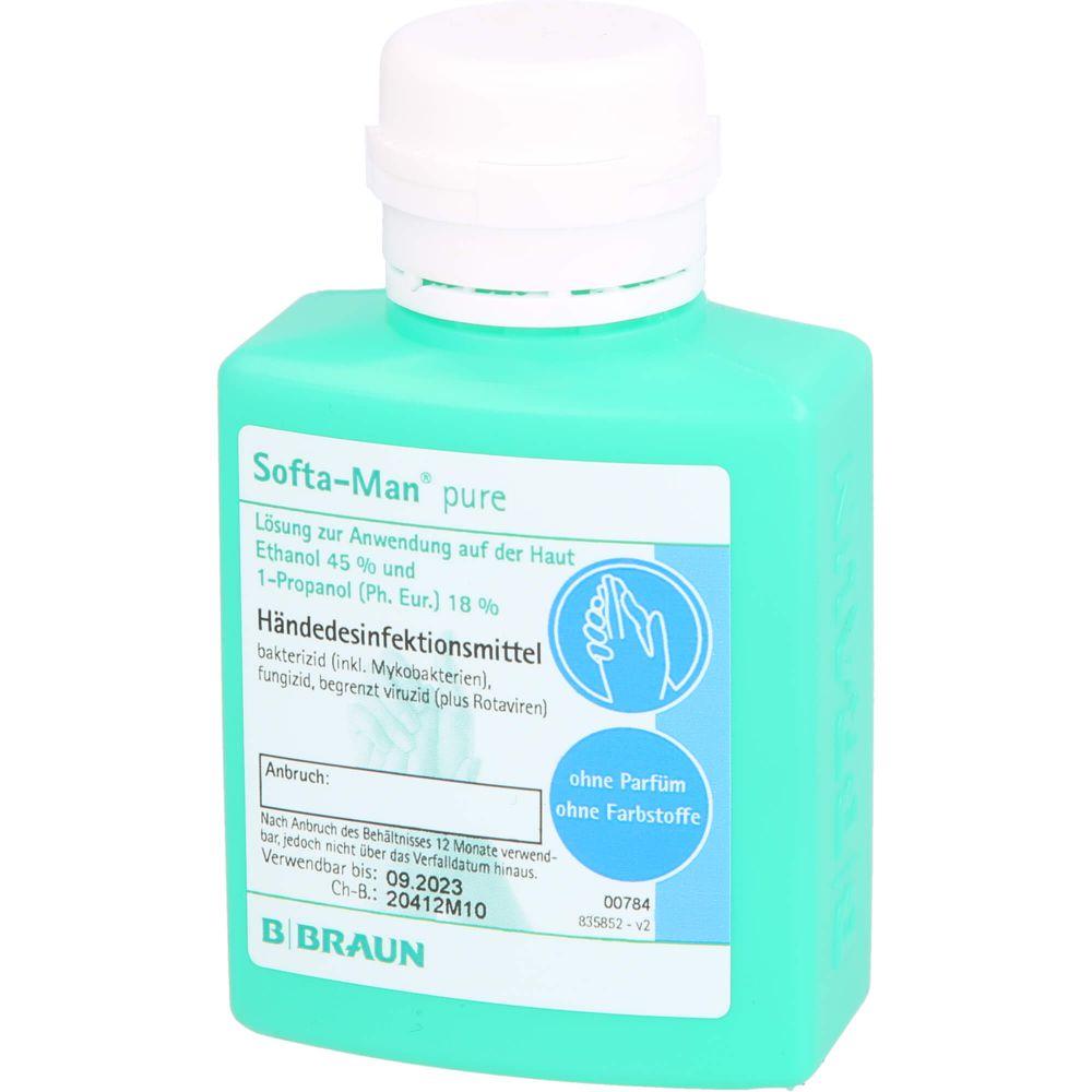 SOFTA MAN pure Händedesinfektionsmittel