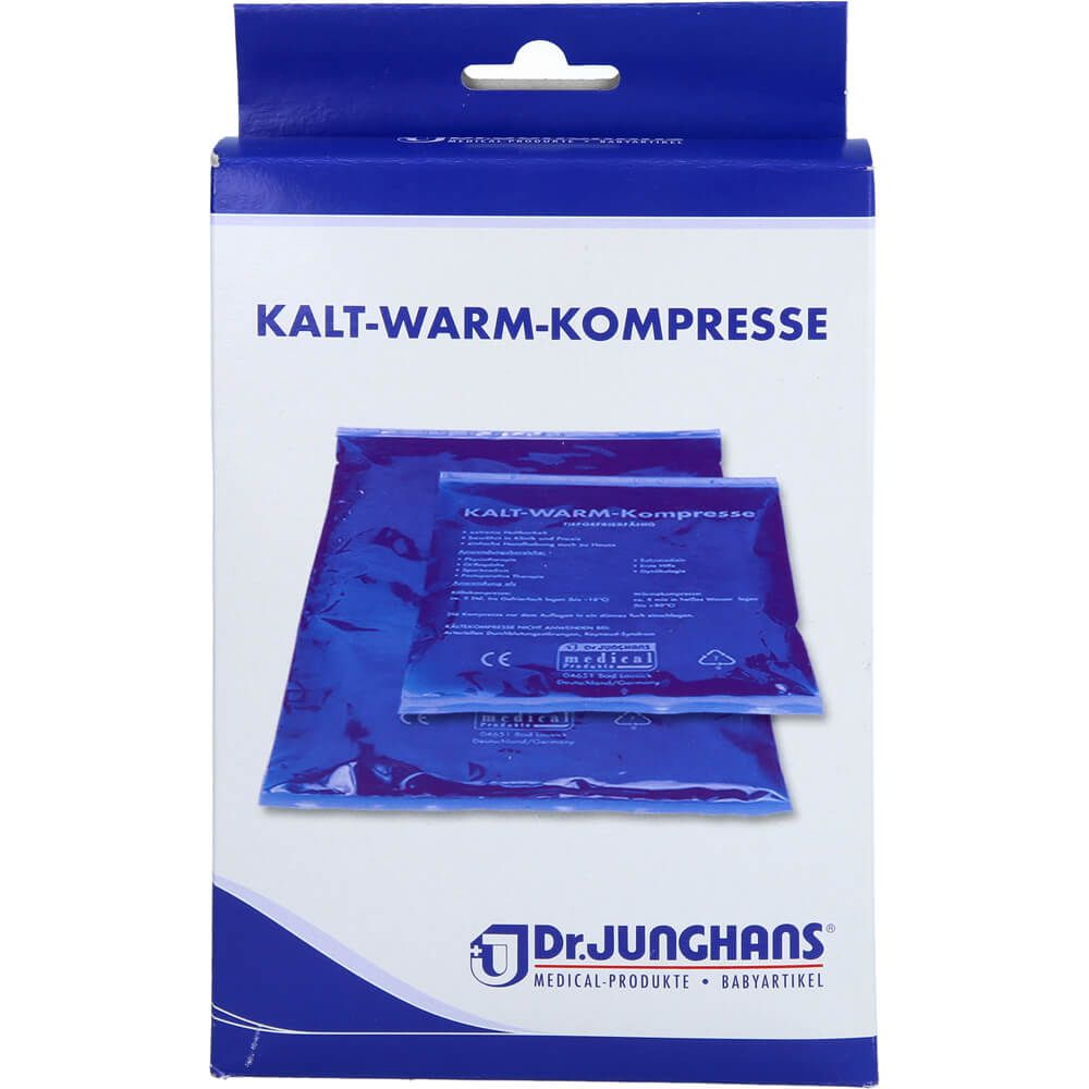 KALT-WARM Kompresse 12x29 cm mit Vlieshülle