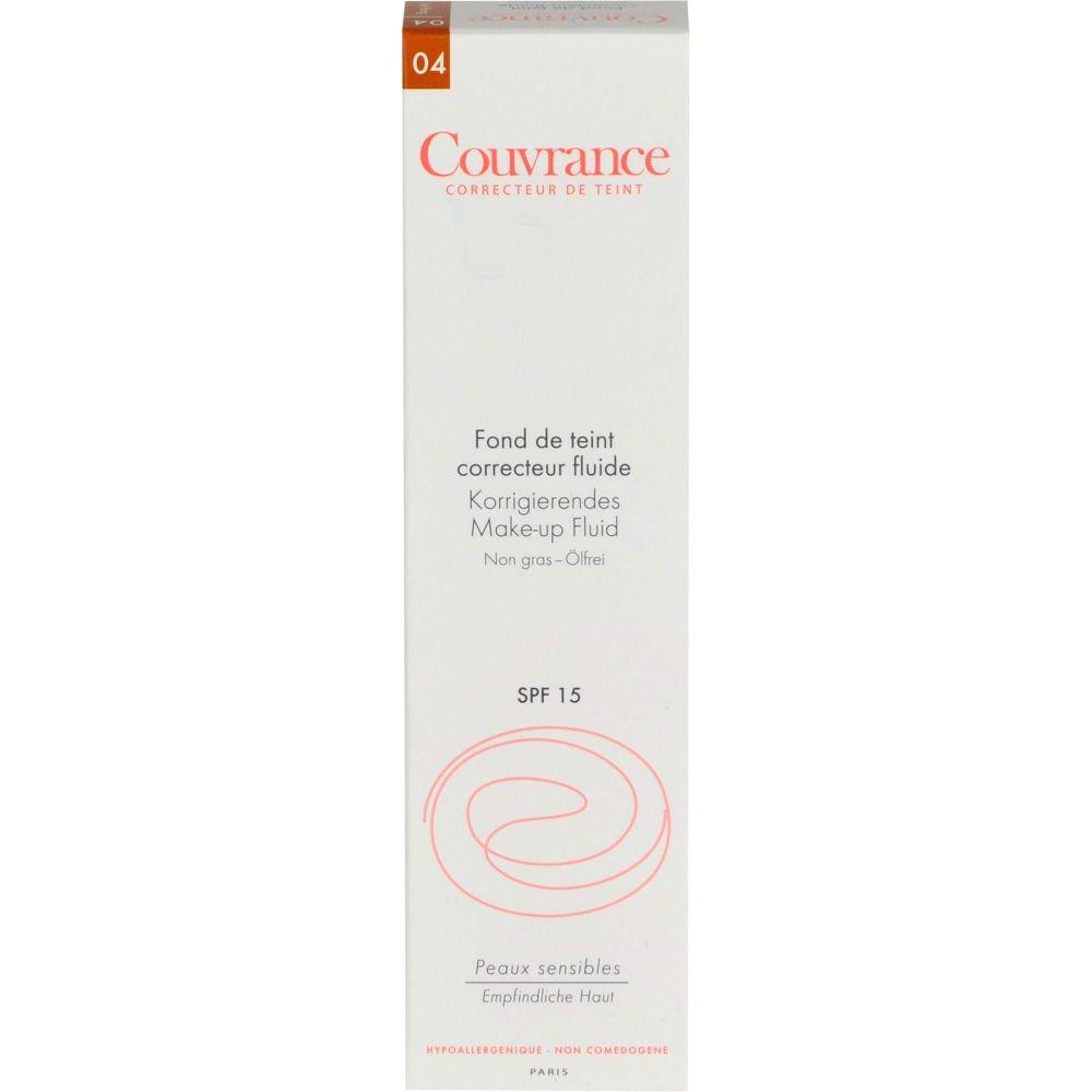 AVENE Couvrance korrigier.Make-up Fluid honig 4.0