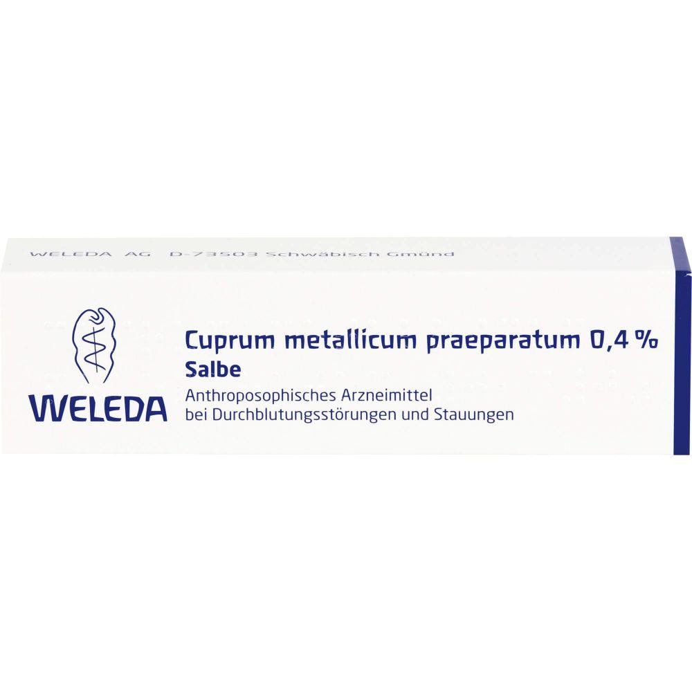 CUPRUM METALLICUM praep.0,4% Salbe