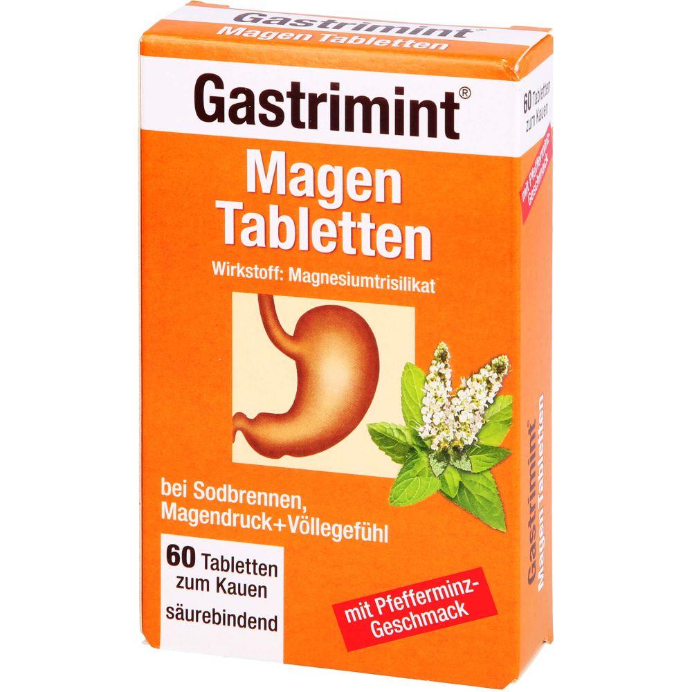 BAD HEILBRUNNER Gastrimint Magen Tabletten