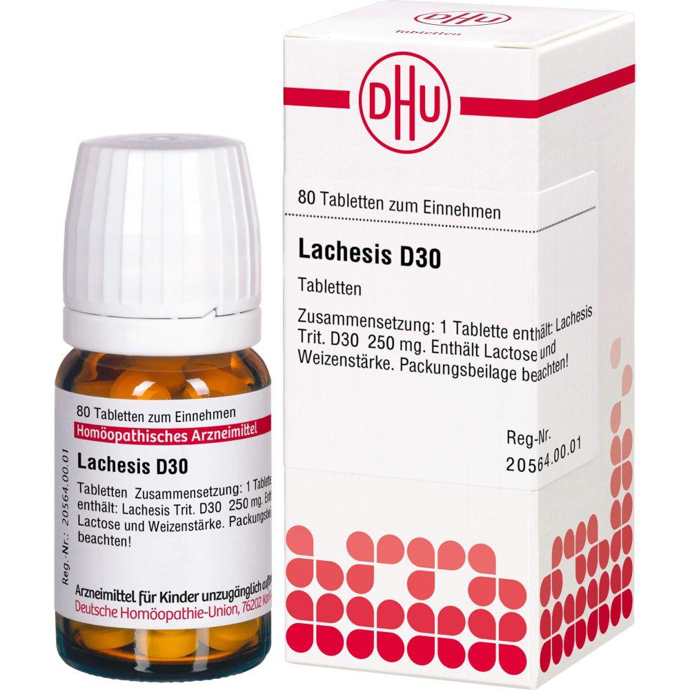 LACHESIS D 30 Tabletten