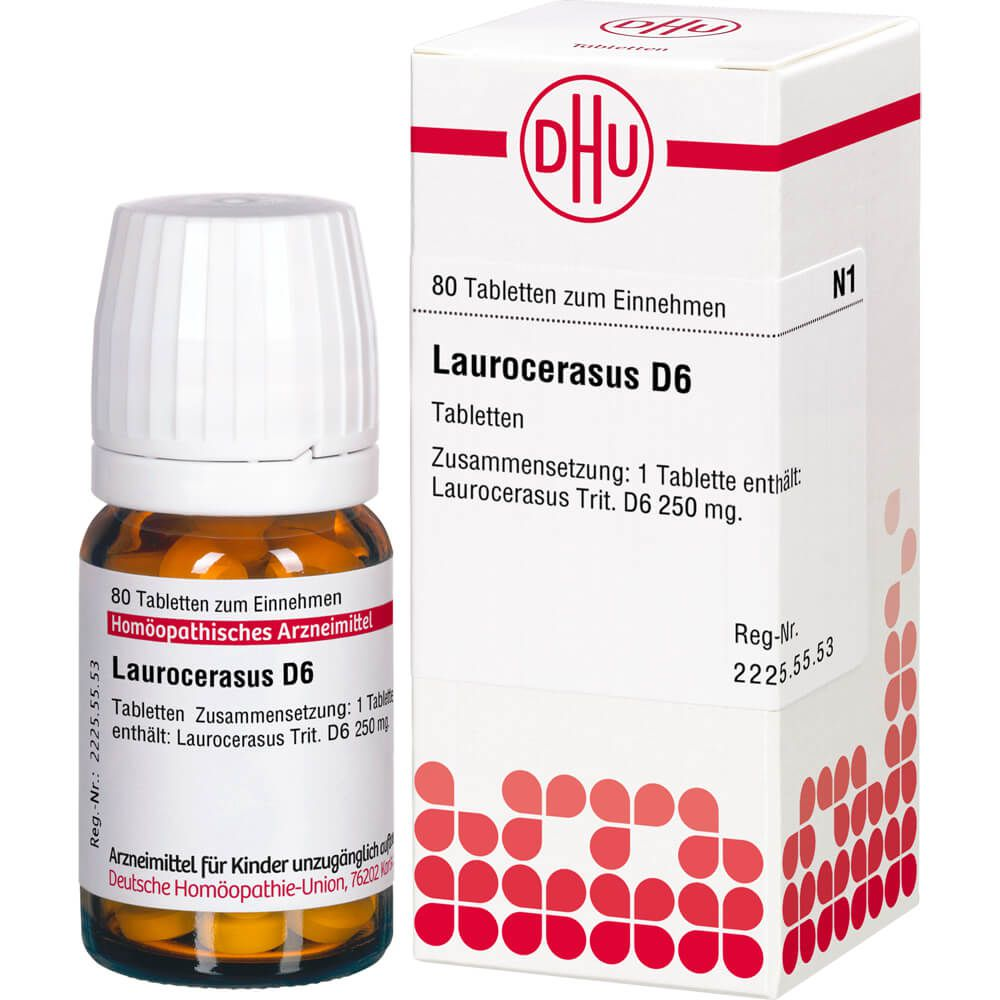 LAUROCERASUS D 6 Tabletten