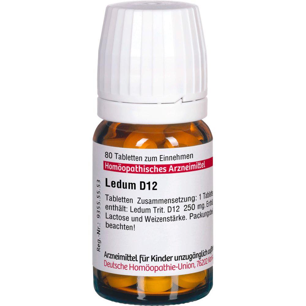 LEDUM D 12 Tabletten