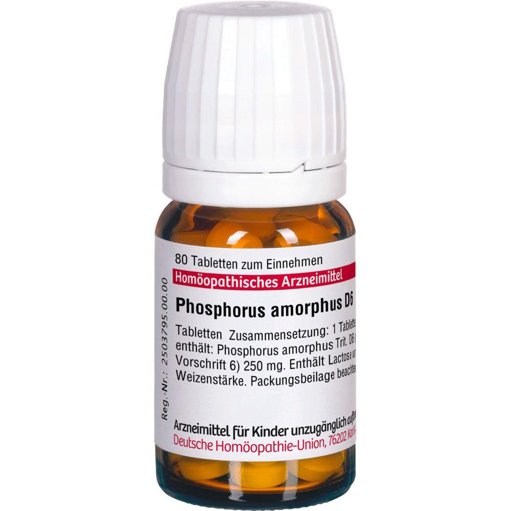 PHOSPHORUS AMORPHUS D 6 Tabletten