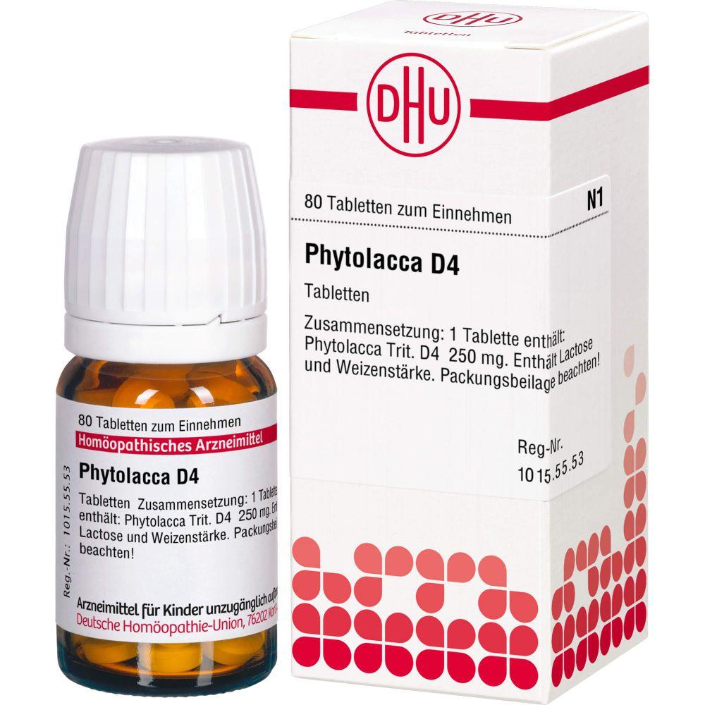 PHYTOLACCA D 4 Tabletten